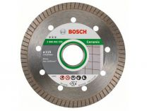 Diamantový kotouč Bosch Best for Ceramic Extraclean Turbo na tvrdé mat., pr. 115x22.23x1.4/7mm