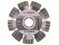 Diamantový kotouč Bosch Best for Concrete, pr. 115x22.23x2.2/12mm