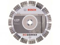Diamantový kotouč Bosch Best for Concrete, pr. 230x22.23x2.4/15mm