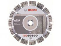 Diamantový kotouč Bosch Best for Concrete, pr. 230x22.23x2.4/15mm