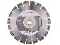 Diamantový kotouč na beton Bosch Best for Concrete, pr. 300 x 22.23 x 2.8 / 15 mm na tvrzený a armovaný beton (2 608 602 656)