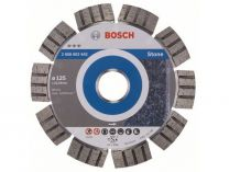 Diamantový kotouč Bosch Best for Stone, pr. 125x22.23x2.2/12mm