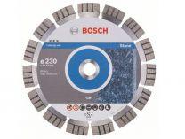 Diamantový kotouč Bosch Best for Stone, pr. 230x22.23x2.4/15mm