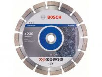 Diamantový kotouč Bosch Expert for Stone na žulu, arm. beton, kámen, pr. 230x22.23x2.4/12mm