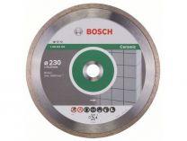 Diamantový kotouč Bosch Standard for Ceramic na obklady a dlažbu, pr. 230x22.23x1.6/7mm
