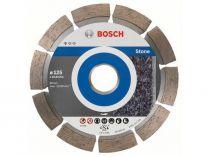 Diamantové dělicí kotouče Bosch Standard for Stone na žulu, kámen a tvrdé materiály, 125x22.23x1.6/10mm, 10 ks
