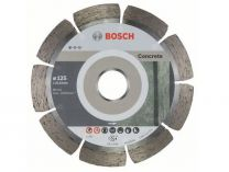 Diamantové kotouče Bosch Standard for Concrete na beton, pr. 125x22.23x1.6/10mm, 10 ks