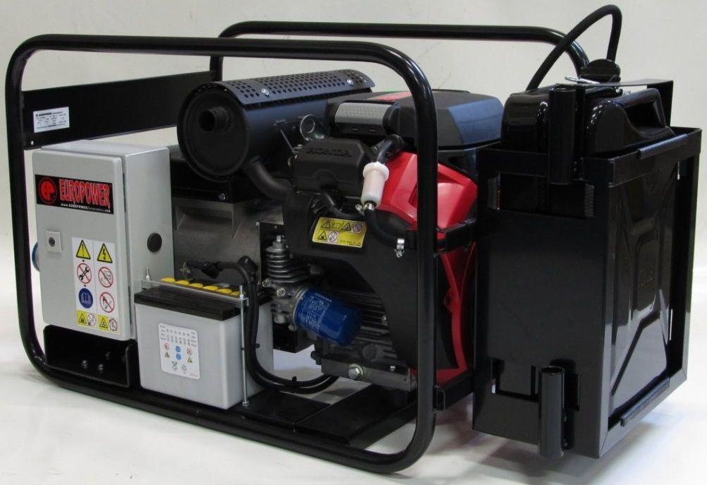Generátor - Jednofázová elektrocentrála HONDA Europower EP10000E s výkonem 10kVA