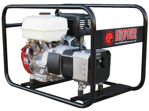 Generátor - Jednofázová elektrocentrála HONDA Europower EP6000 s výkonem 6,0 kVA