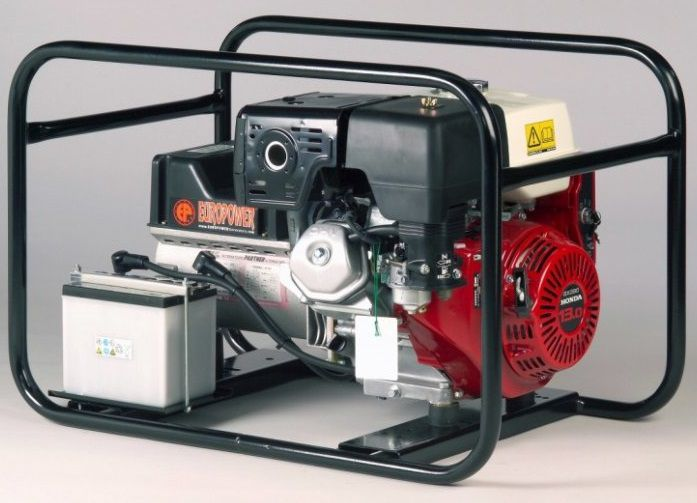 Generátor - Jednofázová elektrocentrála Honda Europower EP6000E-ATS, 6 kVA, DOPRAVA ZDARMA