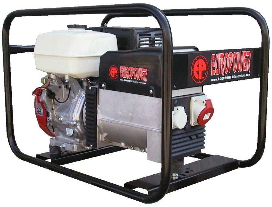 Generátor - Jednofázová elektrocentrála Honda Europower EP6500TE-ATS, 7kVA/400V, DOPRAVA ZDARMA