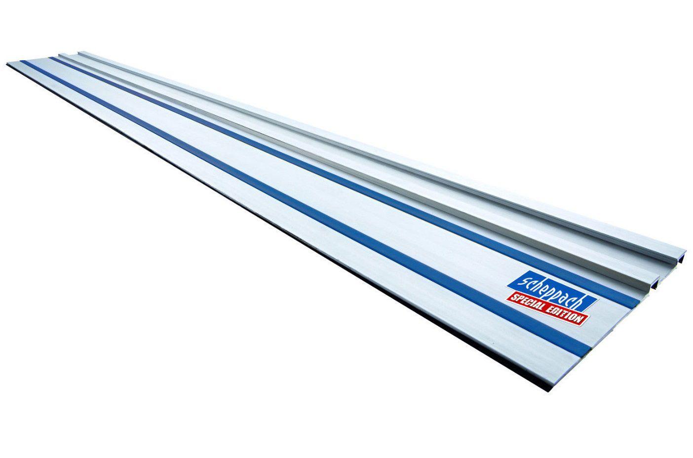 Hliníková vodící lišta 1400mm pro kotoučovou pilu Scheppach PL 55, PL 75, CS 55, Woodster Divar 55 (4901802701)
