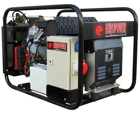 Třífázová elektrocentrála HONDA Europower EP13500TE s výkonem 13,5 kVA/400V (Generátor)