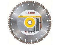 Diamantový kotouč Bosch Best for Universal, pr. 300 x 22.23 x 2.8 / 15 mm na beton, zdivo, cihly, žulu, litinové trubky a některý kov (2 608 603 634)