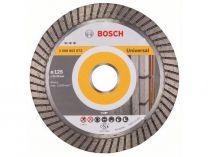 Diamantový kotouč pro stavební materiály Bosch Best for Universal Turbo, pr. 125x22.23x2.2/12mm