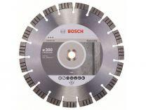 Diamantový kotouč na beton Bosch Best for Concrete pro pojízdné řezačky spár, pr. 300 x 20/25,40* x 2.8 / 15 mm (2 608 602 657)
