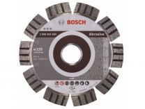 Diamantový kotouč na cihly Bosch Best for Abrasive, pr. 125x22.23x2.2/12mm