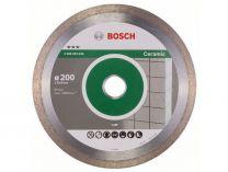 Diamantový kotouč na obklady Bosch Best for Ceramic pro řezačky na dlaždice, pr. 200x25.40x2.2/10mm