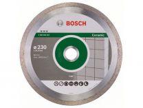 Diamantový kotouč na obklady Bosch Best for Ceramic pro řezačky na dlaždice, pr. 230x25.40x2.4/10mm
