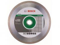 Diamantový kotouč na obklady Bosch Best for Ceramic pro řezačky, pr. 250x30/25,40*x2.4/10mm
