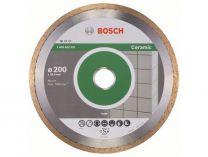 Diamantový kotouč na obklady Bosch Standard for Ceramic, pr. 200x25.4x1.6/7 mm