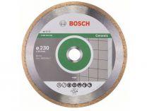 Diamantový kotouč na obklady Bosch Standard for Ceramic, pr. 230x25.4x1.6/7 mm