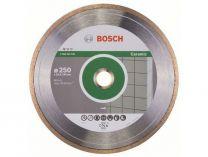 Diamantový kotouč na obklady Bosch Standard for Ceramic, pr. 250x30/25,40*x1.6/7 mm