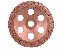 Plochý kovový brusný hrnec do úhlové brusky Bosch 180mm - HRUBÝ