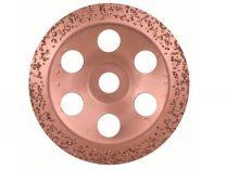 Šikmý kovový brusný hrnec do úhlové brusky Bosch 180mm - HRUBÝ