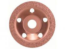 Plochý kovový brusný hrnec do úhlové brusky Bosch 115mm - JEMNÝ