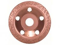 Šikmý kovový brusný hrnec do úhlové brusky Bosch 115mm - JEMNÝ