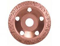 Šikmý kovový brusný hrnec do úhlové brusky Bosch 115mm - STŘEDNĚ HRUBÝ