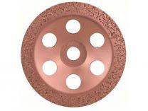 Plochý kovový brusný hrnec do úhlové brusky Bosch 180mm - STŘEDNĚ HRUBÝ