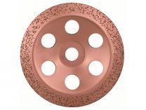 Šikmý kovový brusný hrnec do úhlové brusky Bosch 180mm - STŘEDNĚ HRUBÝ