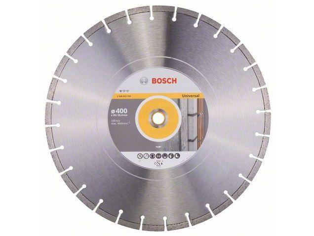 Diamantový kotouč Bosch Standard for Universal pro stolní pily, pr. 400 x 20/25.4 x 3.2 / 10 mm (2 608 602 550)