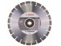 Diamantový kotouč na abrazivní materiály Bosch Best for Abrasive, pr. 350x20/25.4x3.2/15 mm