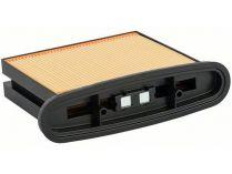 Celulózový skládaný filtr k vysavači Bosch 4300cm², 257x69x187mm pro GAS 25 L SFC Professional