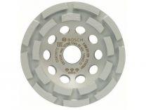 Zobrazit detail - Diamantový brusný hrnec na beton Bosch Best for Concrete, pr. 125x22.23/4.5 mm, 2-řadý segment