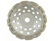 Diamantový brusný hrnec na beton Bosch Best for Concrete, pr. 180x22.23/5.5 mm, 2-řadý segment
