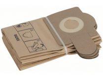 Papírové filtrační sáčky - Pytle Bosch k vysavači PAS 11-21; PAS 12-27; PAS 12-27 F - 5ks