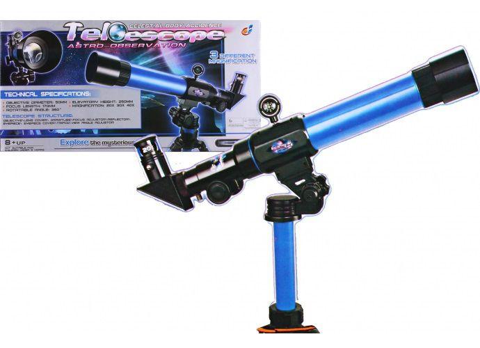 G21 Teleskop dětský modrý
