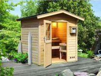 Venkovní finské sauny - saunové domky