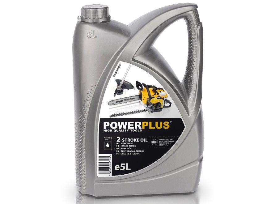 Olej do 2-taktních motorů PowerPlus POWOIL025 - 5L