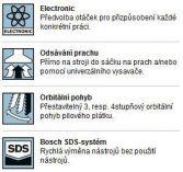 Bosch GST 90 E Professional přímočará pila, 650W, 90mm, 2.3kg, kufr (060158G000) Bosch PROFI