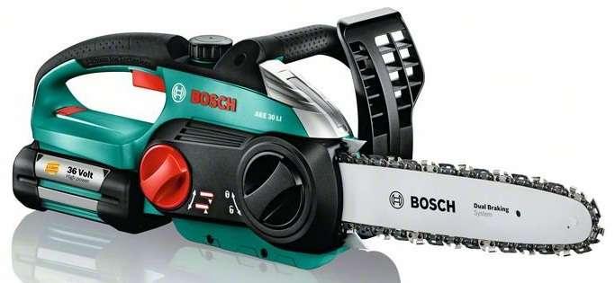 Bosch AKE 30 LI Aku řetězová pila - holé nářadí