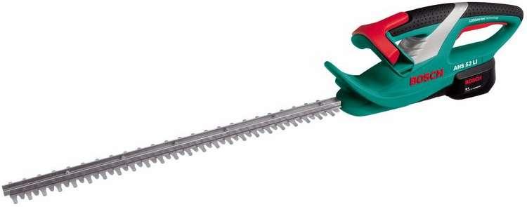Bosch AHS 52 LI aku nůžky na živý plot