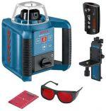 Bosch GRL 250 HV Professional rotační laser + dálkové ovládání RC1 + nivelační lať GR 240 + stativ BT 170 HD + přijímač LR1 (0601061600) Bosch PROFI