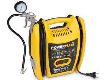 Bezolejový kompresor PowerPlus POWX1705 - 1100W, 8bar, 180l/min, 5.5kg
