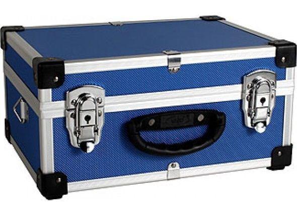Varo PRM10106BL - Hliníkový kufr se zámky 320x230x150 mm modrý