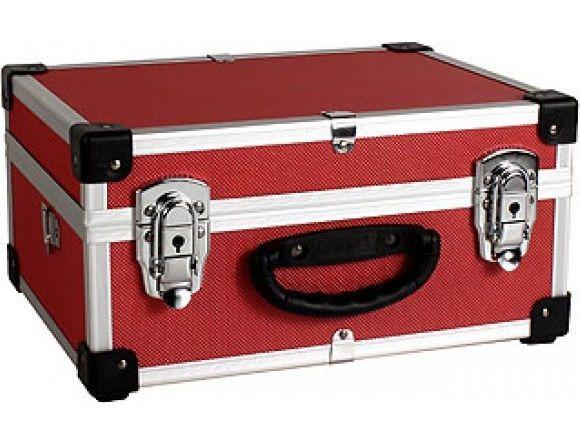 Varo PRM10106R - Hliníkový kufr se zámky 320x230x150 mm červený